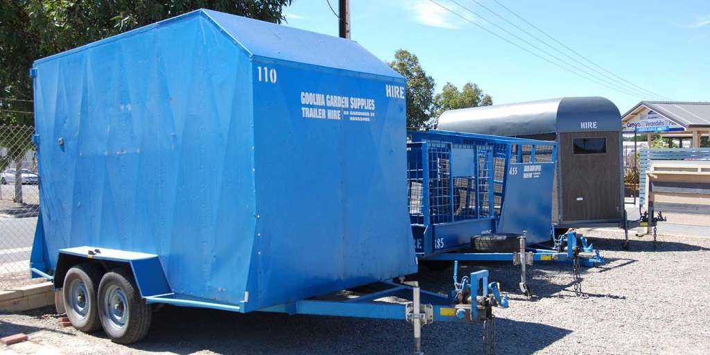 Wide range of trailers for hire